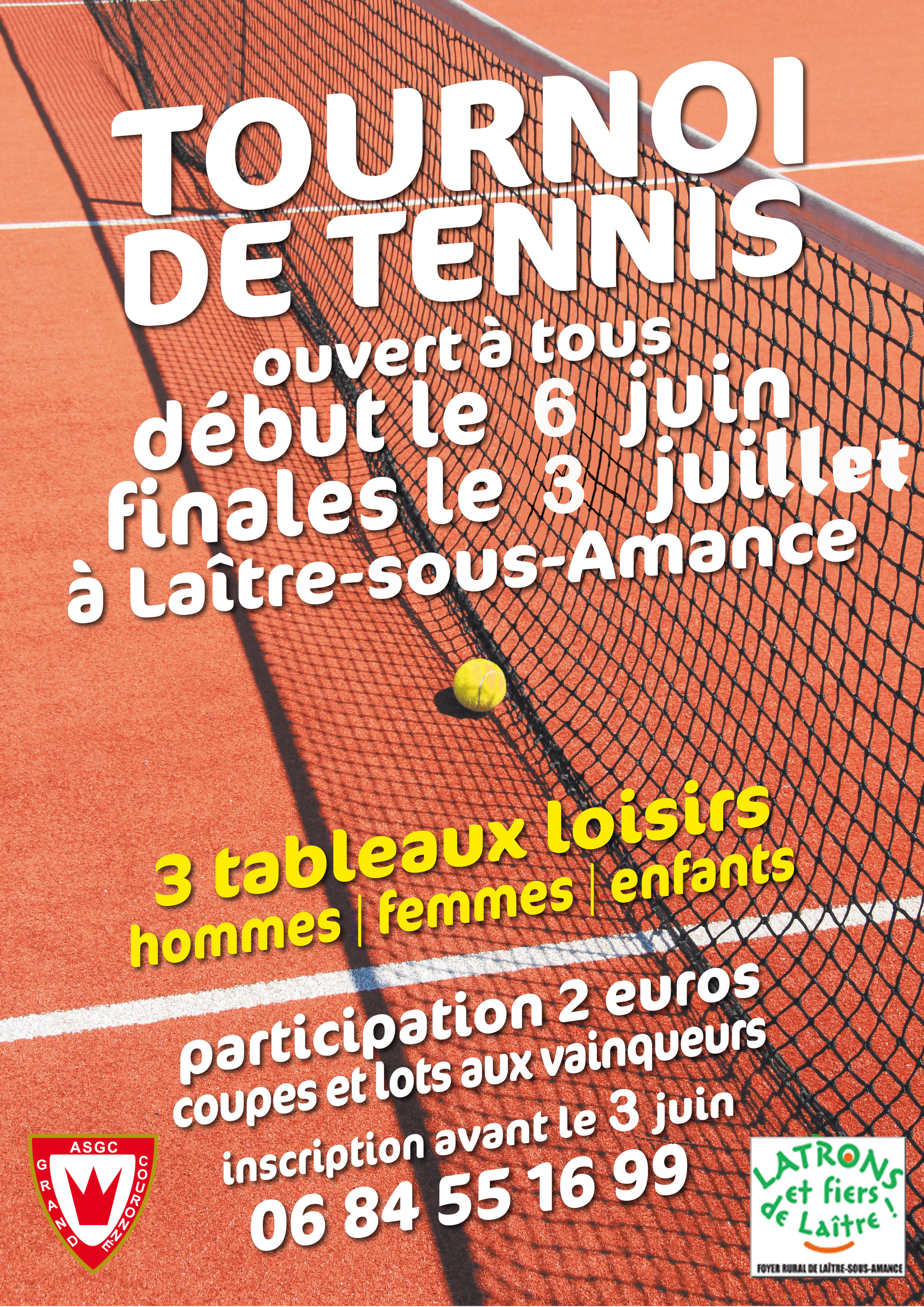 Affiche finale tournoi tennis 2016 (1) copie